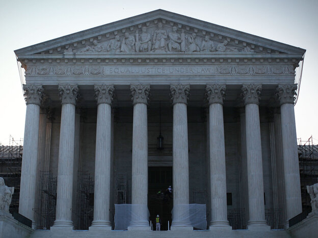 The U.S. Supreme Court, which will be in the news on Thursday.