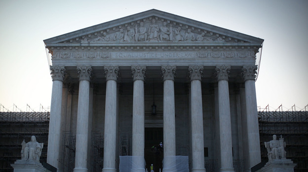 The U.S. Supreme Court, which will be in the news on Thursday. (Getty Images)