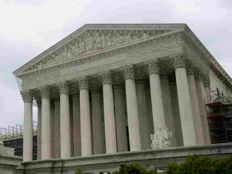 The U.S. Supreme Court is seen in Washington, D.C. on June 18. The high court is set to rule on Thursday on the constitutionality of President Barack Obama's health care reforms.