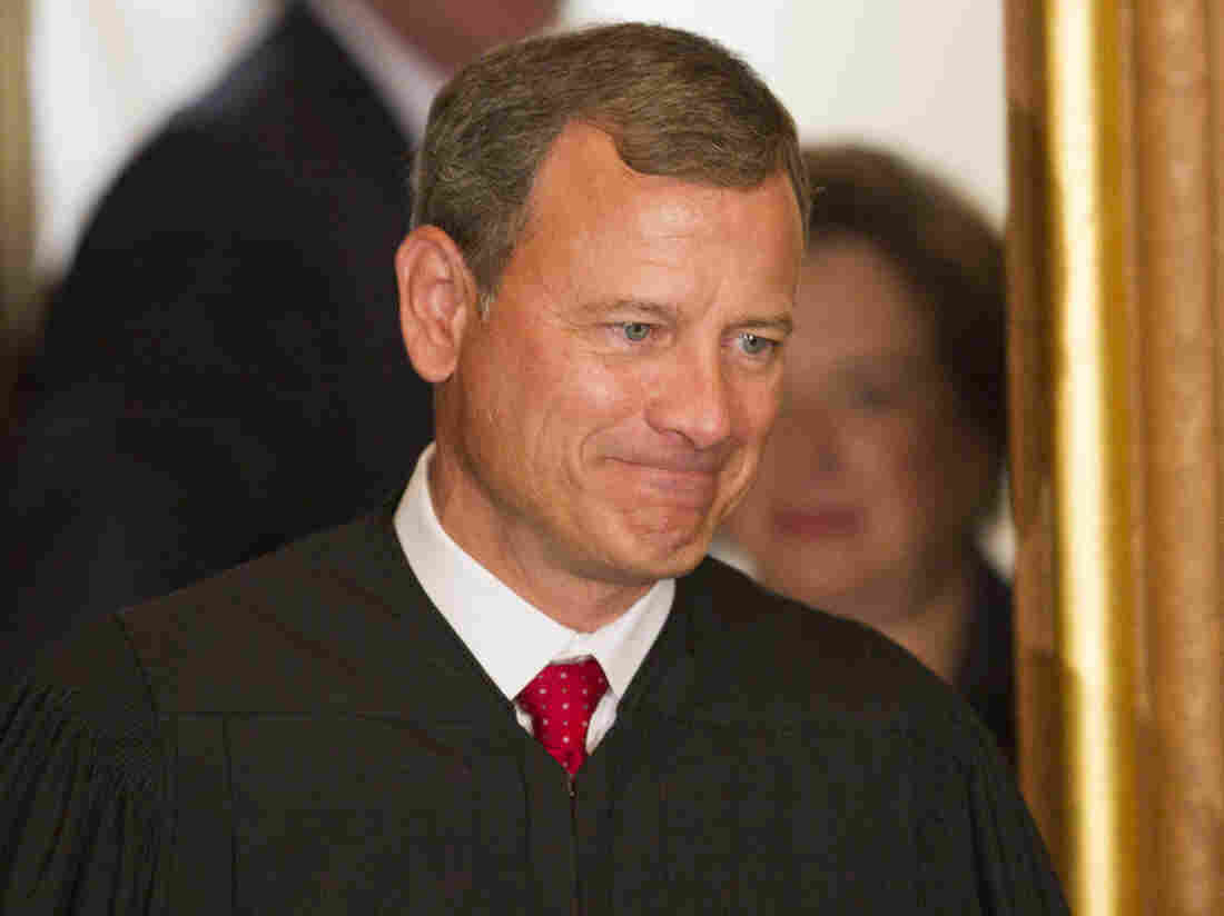 "Chief Justice John Roberts, shown in 2010, is still ""finding his role as chief justice,"" says one law professor."