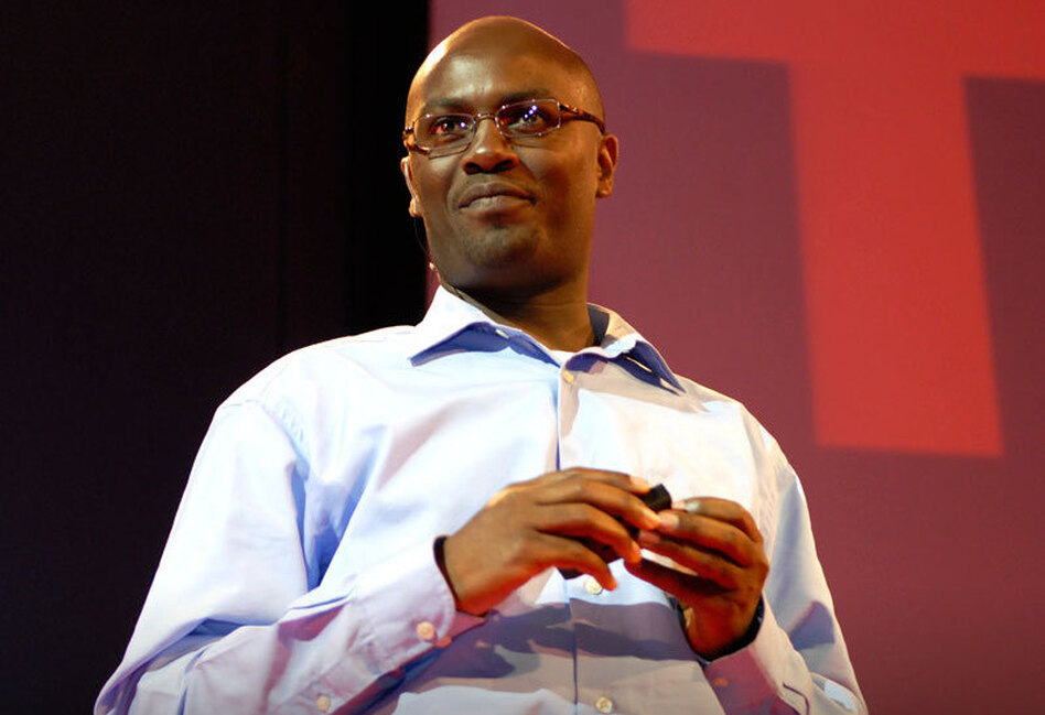 """""""Most of the rich countries are attracted to Africa's poverty rather than its wealth. And in the process they end up subsidizing our failures, rather than rewarding our accomplishments."""" — Andrew Mwenda"""