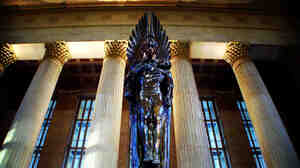 Angels — good and evil — abound in Solomon Jones' thriller, The Last Confession. The book begins with the discovery of a body beneath the famous angel statue in Philadelphia's 30th Street Station.