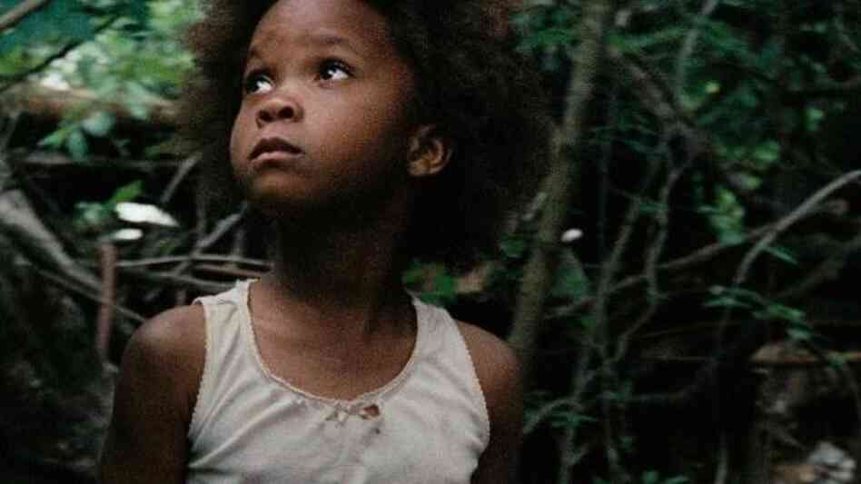 Hushpuppy, the 6-year-old at the center of Beasts of the Southern Wild, is played by Quvenzhane Wallis, who was found by director Benh Zeitlin in a Louis