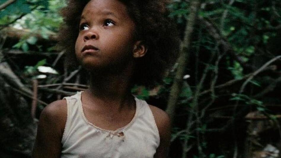 Hushpuppy, the 6-year-old at the center of Beasts of the Southern Wild, is played by Quvenzhane Wallis, who was found by director Benh Zeitlin in a Louisiana elementary school. (Fox Searchlight)