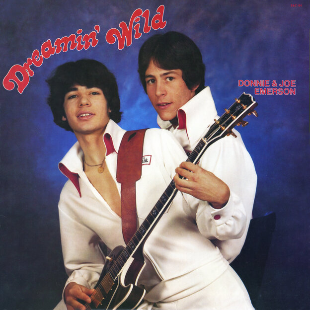 The cover of Donnie & Joe Emerson's Dreamin' Wild, first released in 1979 and reissued this week.