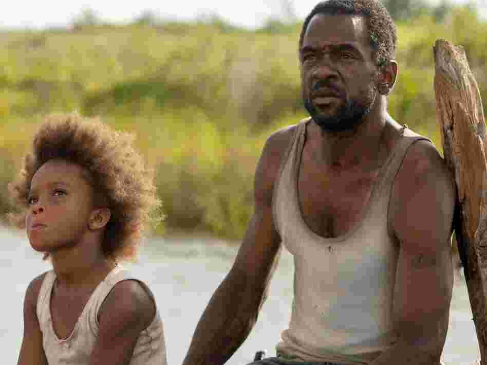 Wink (Dwight Henry) raises Hushpuppy with heavy doses of tough love.