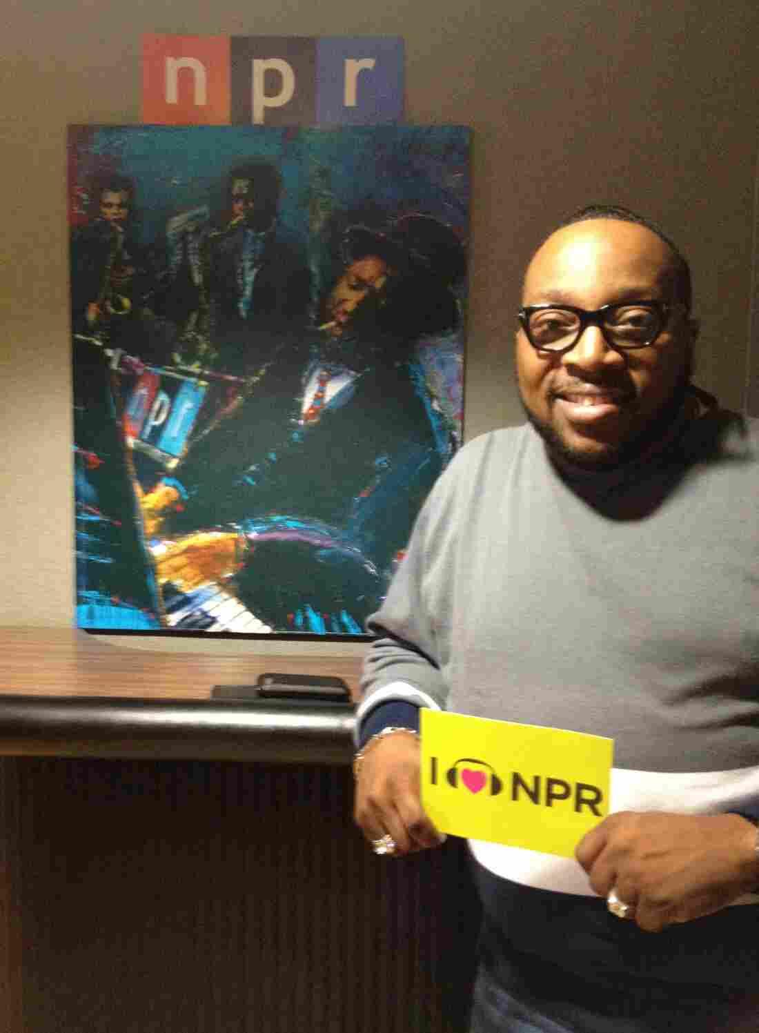 Marvin Sapp at NPR HQ in DC
