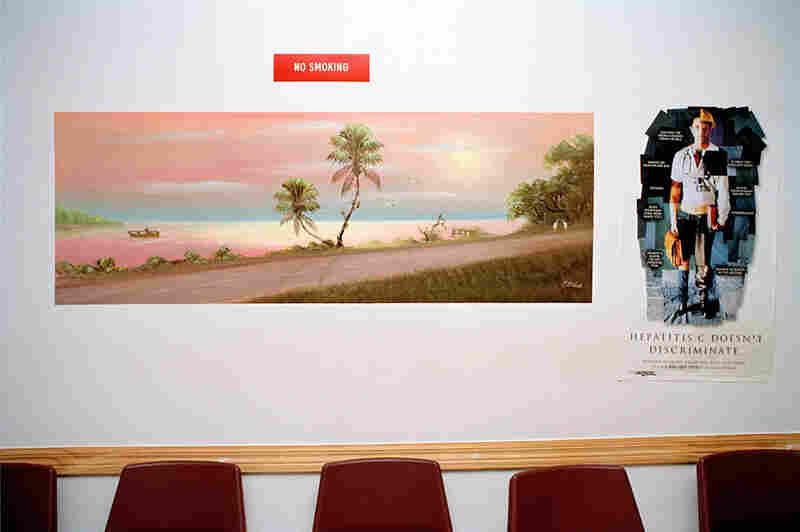 Examples of Al Black's prison murals from the book The Highwaymen Murals: Al Black's Concrete Dreams, University Press of Florida, 2009