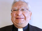 Bishop Ricardo Ramirez visited StoryCorps in in Mesilla, N.M., to remember his grandmother, Panchita Espitia.