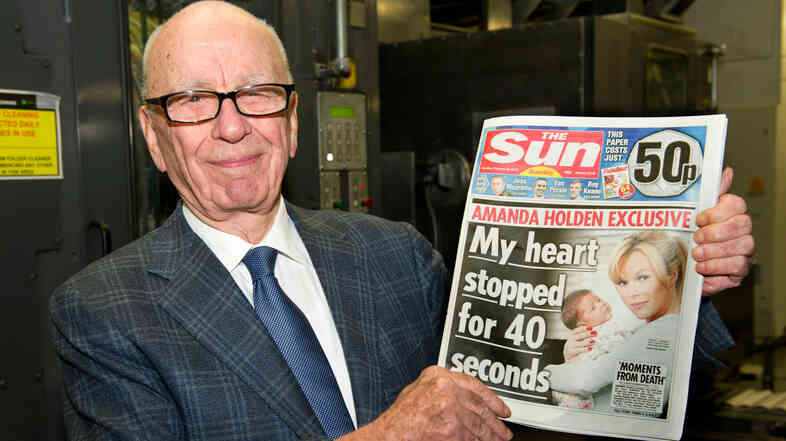 Rupert Murdoch, chairman and CEO of N