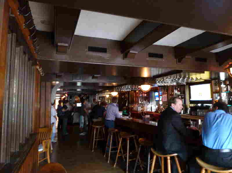 Among the non-touristy haunts of the fictional Joe DeMarco is the Georgetown restaurant The Guards, a cozy-shabby pub on the historic neighborhood's main strip.