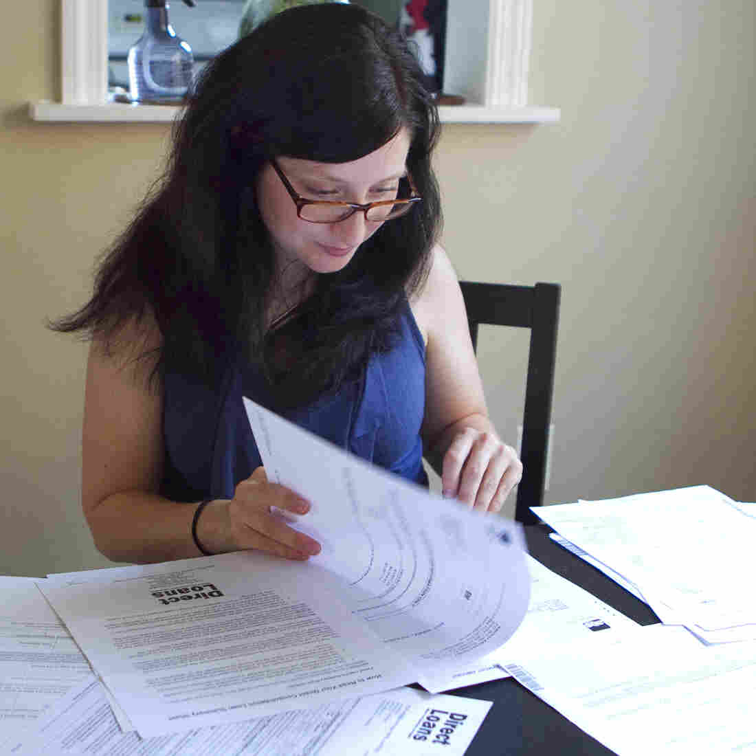 "Michelle Holshue racked up $140,000 in student loan debt while training to become a public health nurse. She's living her dream of helping others, she says, but never expected it ""to be so hard."""