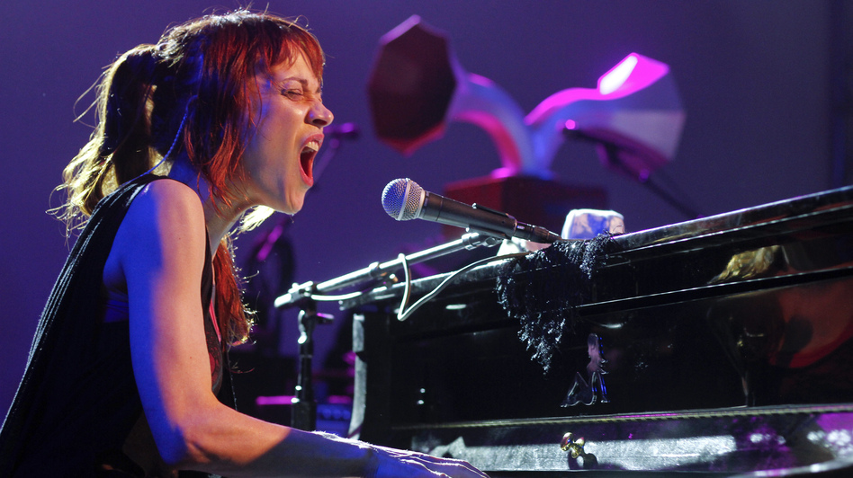 Fiona Apple performs at the NPR showcase during the SXSW Music Festival in Austin, Texas on March 14. (AP)