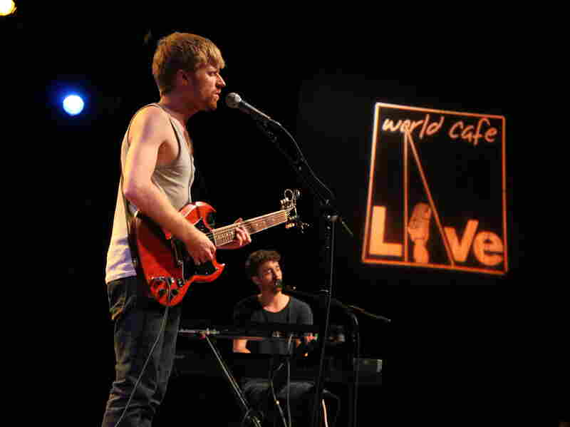 Jukebox the Ghost performs at World Cafe Live in Philadelphia.