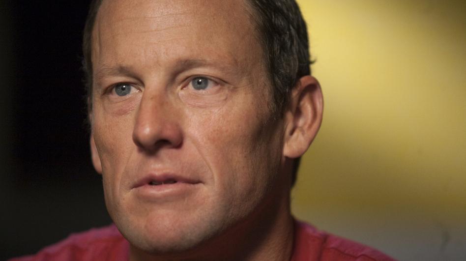 Lance Armstrong. (AP)