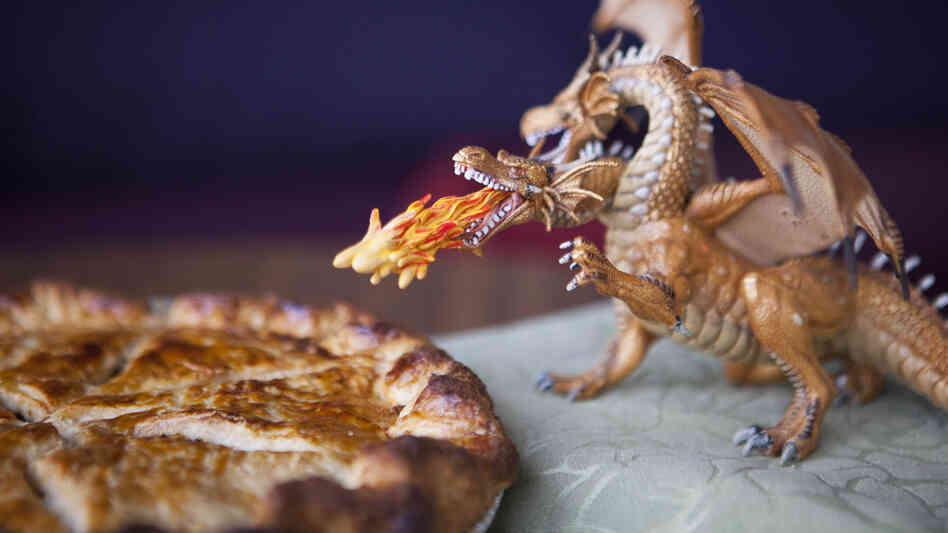 Going medieval in the kitchen: The recipe for this sweet pork pie came from the new, official Game of Thrones cookbook.