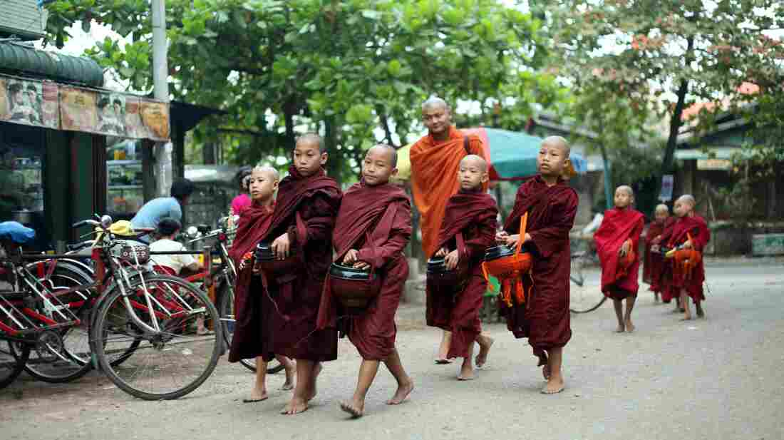 Buddhists donate food and other necessities to monks as a way of earning merit for future lives. Monks have refused donations of alms from the military as a political protest in 1990 and 2007, a boycott that some monks insist is still in effect.