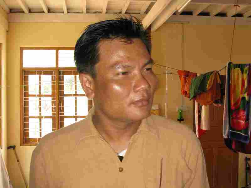 """Nay Myo Zin is a former captain in the Myanmar army who now runs a charity and is a political activist. He says he quit the army because soldiers were """"always made to do bad things,"""" and thus preventing him from properly practicing his Buddhist religion."""