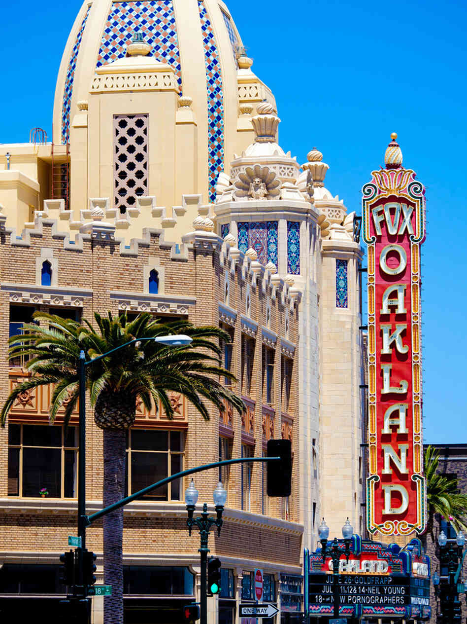 Oakland's Fox Theater first opened in 1928 as a movie palace.