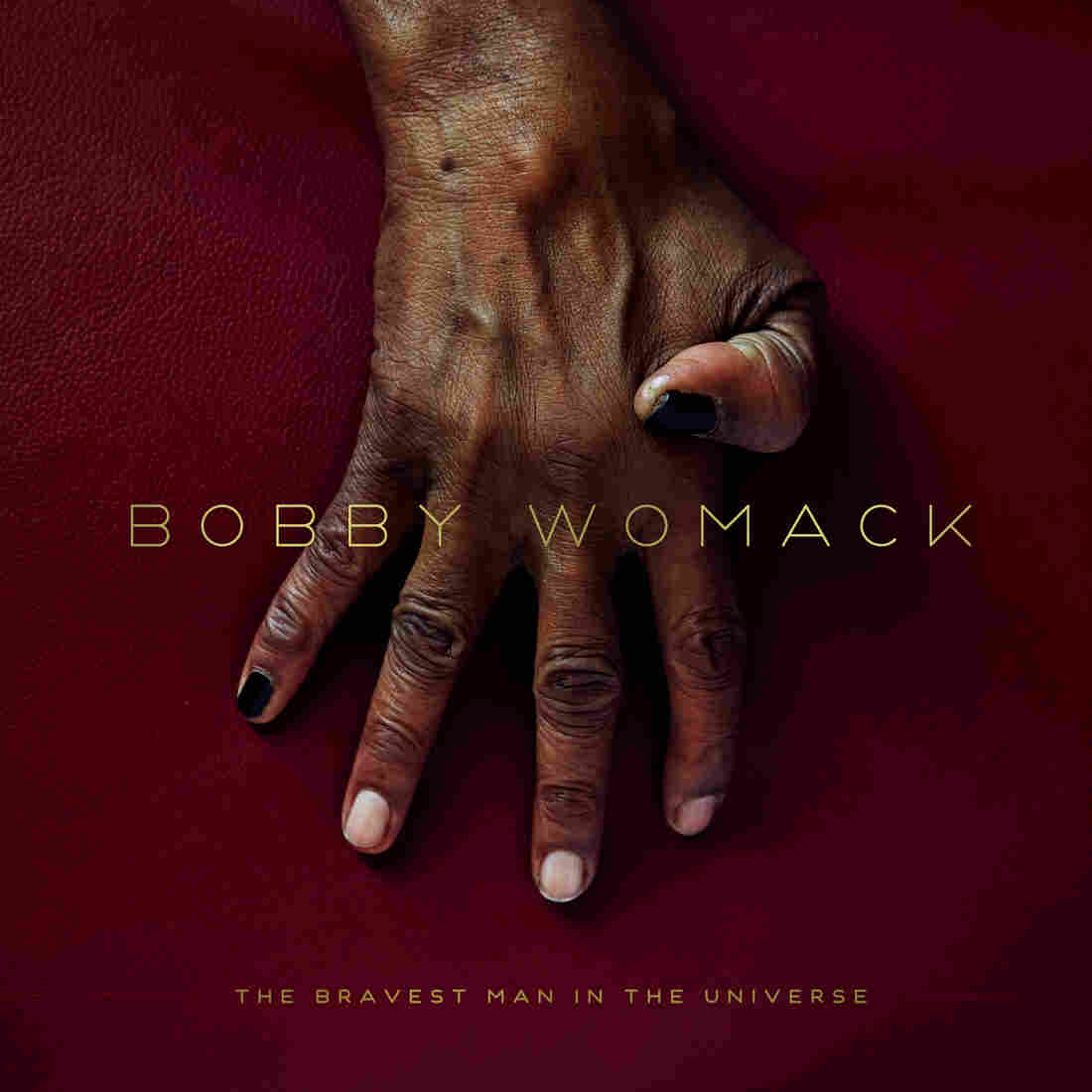 The cover for Bobby Womack's album The Bravest Man In The Universe.