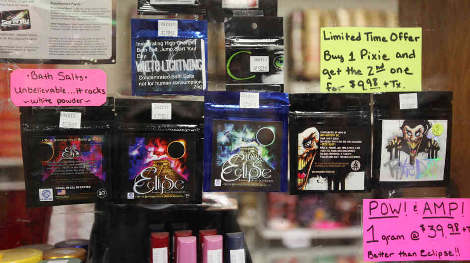 "Use of synthetic ""bath salts,"" compounds sold legally but used as a controlled substance, has been on the rise since 2010."