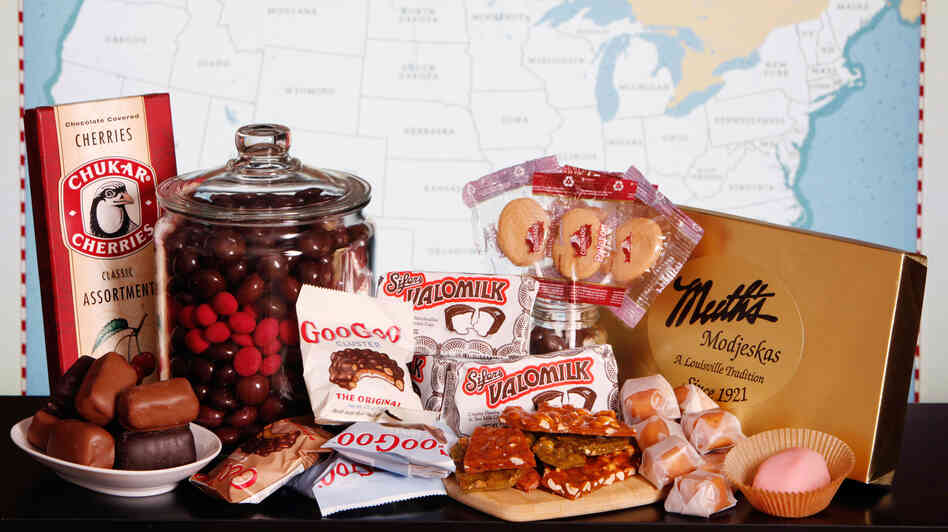 A coast-to-coast tour of America's regional candies.