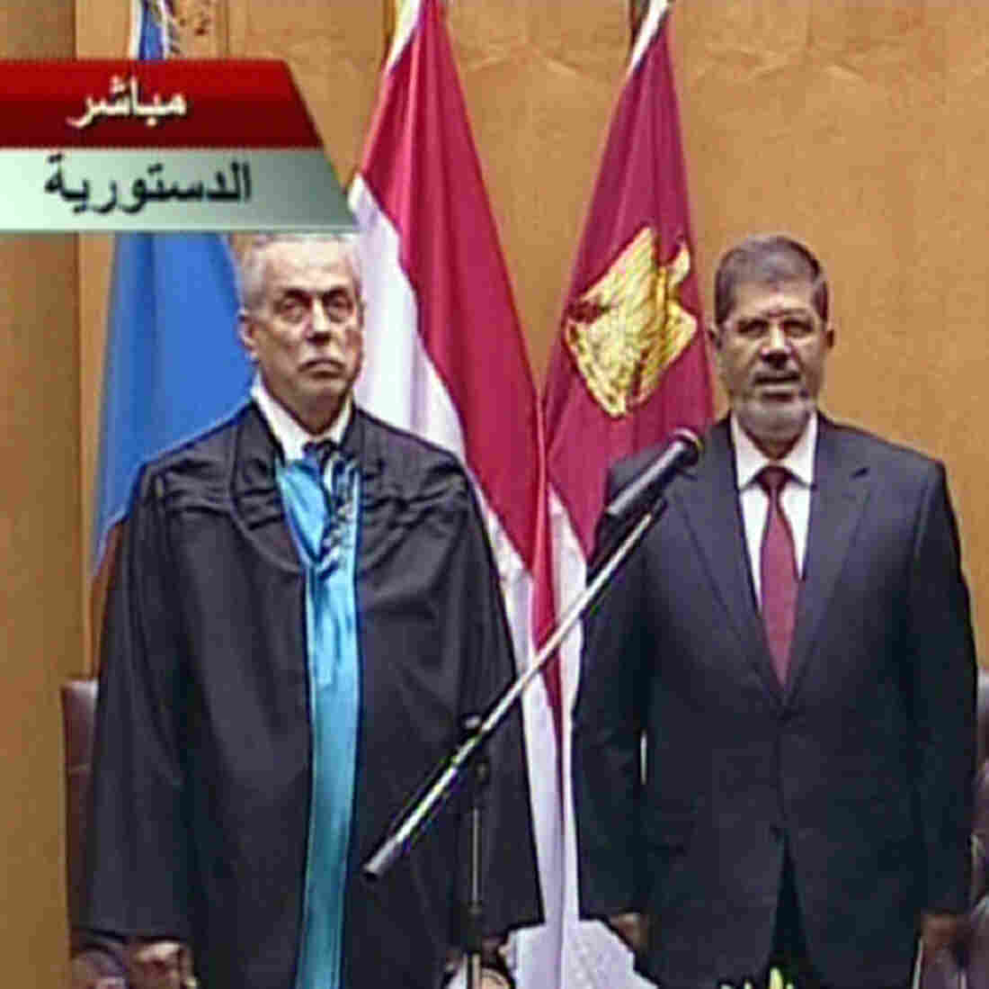 Egypt's First Civilian President Takes Oath Of Office
