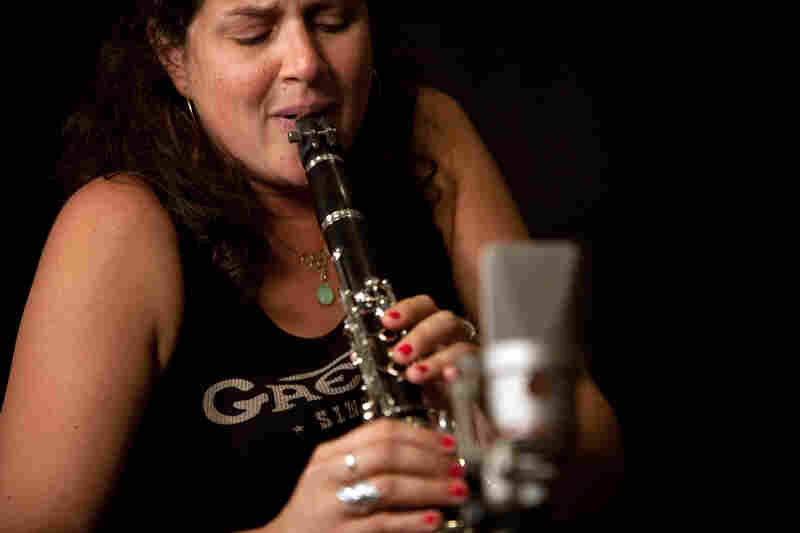 Anat Cohen came directly to WBGO after a performance in Canada.