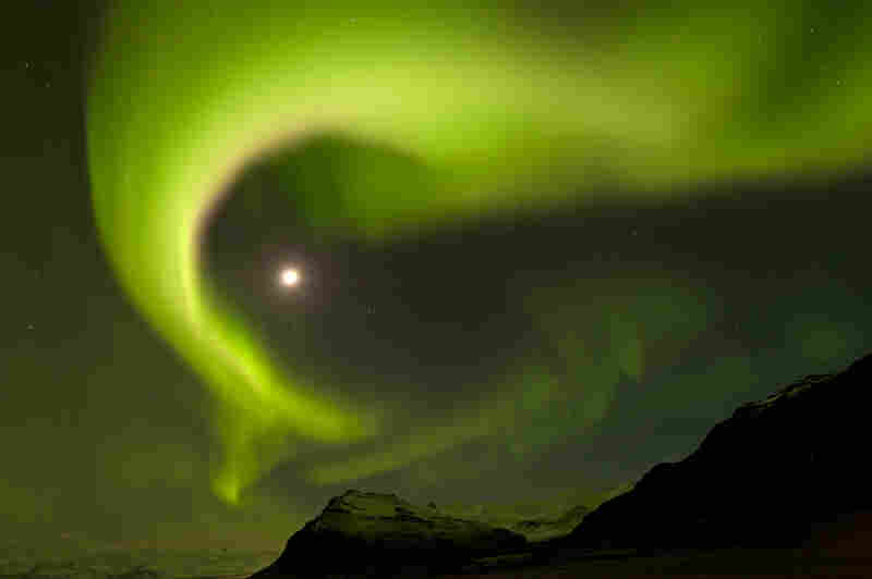 """""""I actually didn't expect I would be photographing the aurora borealis during my trip to Iceland. ... The feeling I got was like I was in a fairy tale, so unreal and magical was this moment to me. I even forgot to take photographs for a moment."""""""