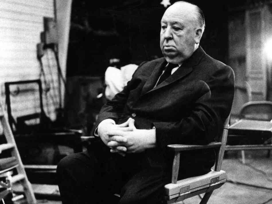 Alfred Hitchcock, seen here in 19