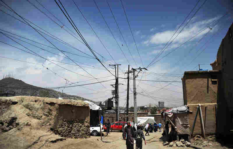 Only about one-third of Afghans have access to a reliable power supply.