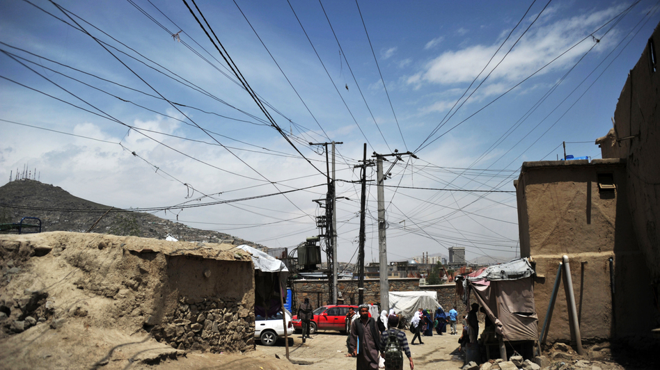 Only about one-third of Afghans have access to a reliable power supply. (AFP/Getty Images)