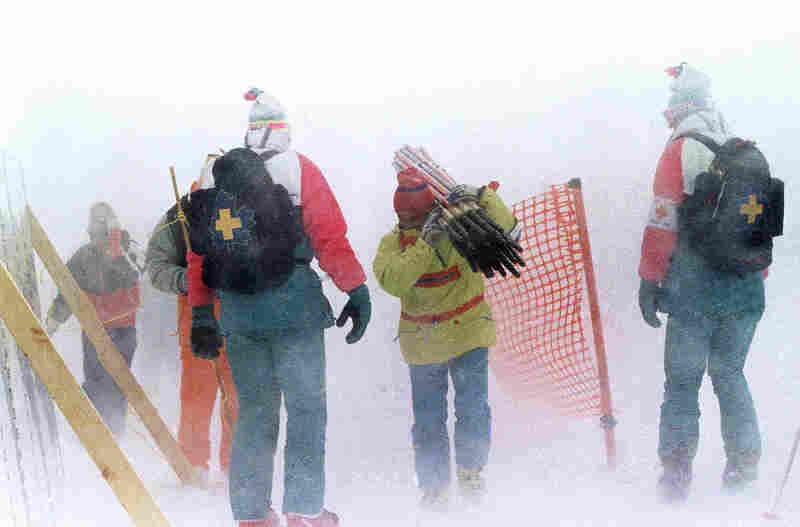 CHINOOK WINDS: These superwarm midwinter breezes plagued the 1988 Winter Olympics in Calgary. Races were canceled, the games were extended and one gust carried a ski jumper into a camera tower.