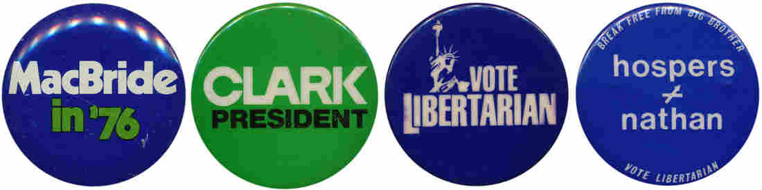 The Libertarians are considered the nation's most viable third party, but they have surpassed 1 percent of the vote only once in 10 tries for the presidency.