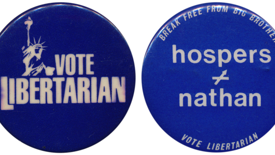 The Libertarians are considered the nation's most viable third party, but they have surpassed 1 percent of the vote only once in 10 tries for the presidency. (Ken Rudin collection)