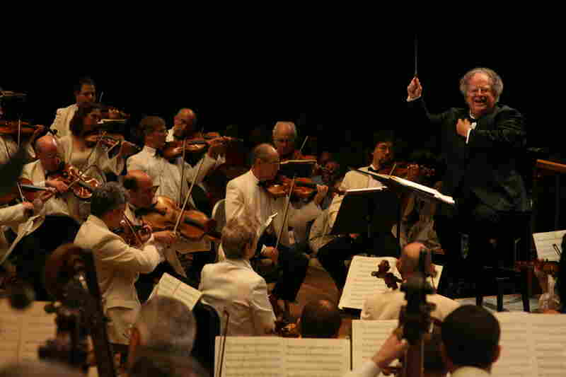 2008: James Levine conducts Berlioz' infrequently heard Les Troyens on Tanglewood's opening night.