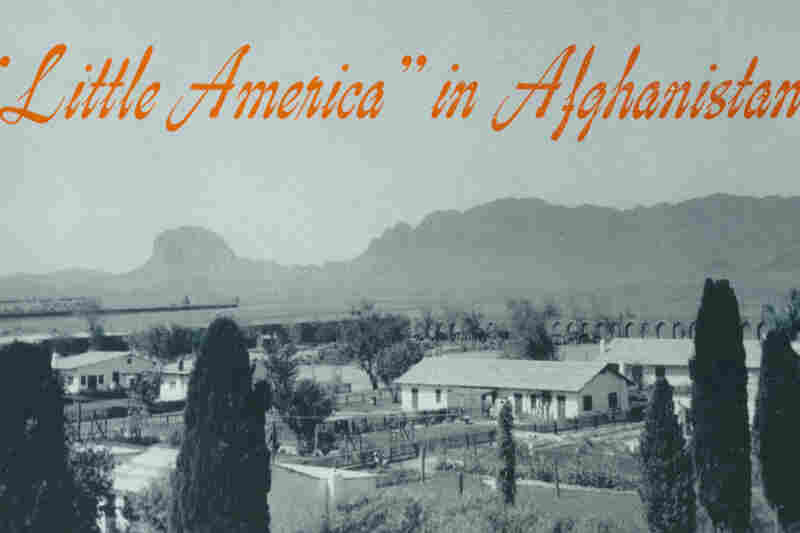 "In the early 1950s, Americans working on a huge engineering project in southern Afghanistan lived in a self-contained community. It looked like a piece of America dropped into the Afghan desert and was known as ""Little America."""