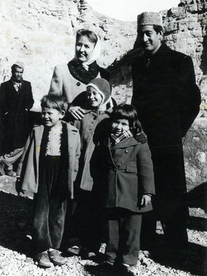 """""""It was an enchanting time,"""" remembered Rebecca Pettys, who lived there for six years starting in 1958, when she was 12 years old. Her Afghan father had received a doctorate from the University of Chicago and married a Finnish-American woman he met in Illinois. The family moved to southern Afghanistan so he could participate in the development effort."""