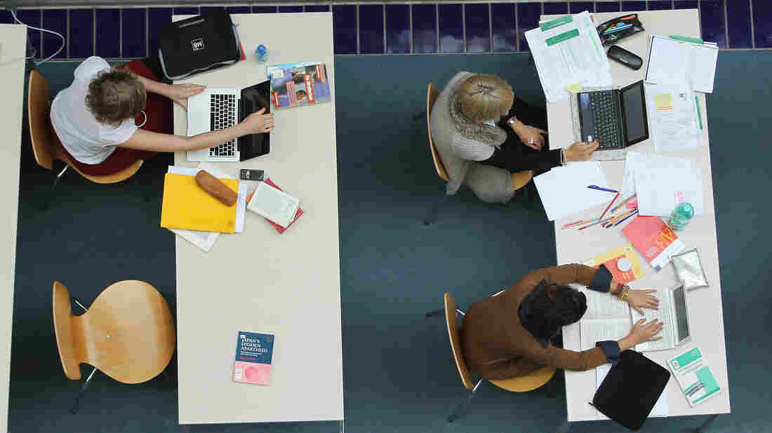 Universities are delving into online education as a way to cut costs and take in more students. But questions remain as to whether online teaching will bring the same kind of education to students.