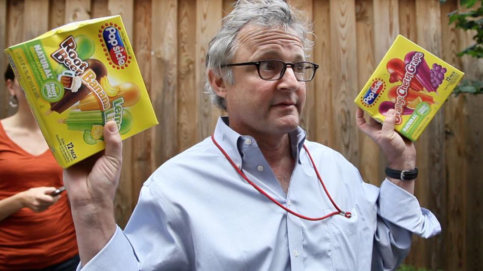 Joe Palca explains how to induce a brain freeze. (NPR)