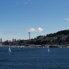 The view of Seattle from Lake Union.