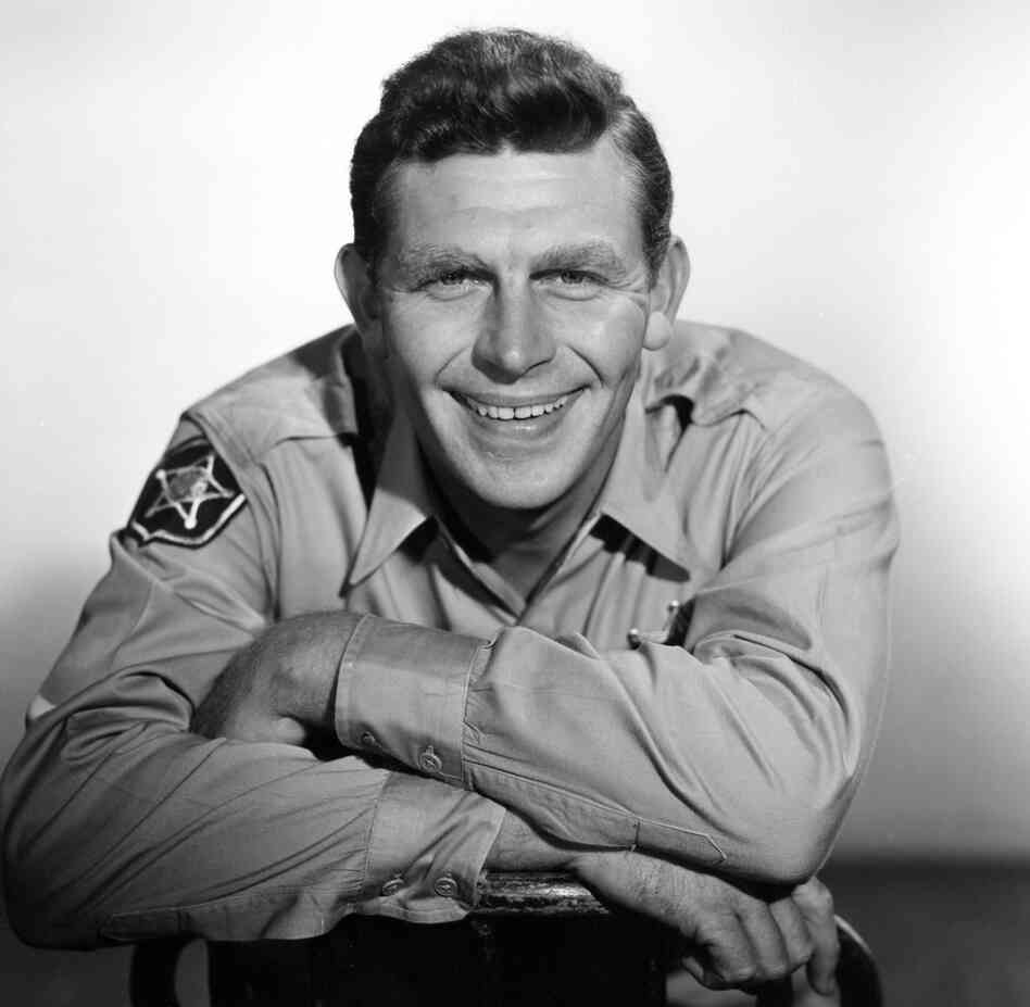 Andy Griffith in 1960, when he started playing Sheriff Andy Taylor on TV.