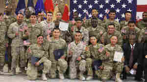U.S. Troops Become American Citizens ... In Kandahar