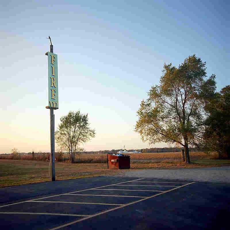 Parking Lot. Howe, Ind.
