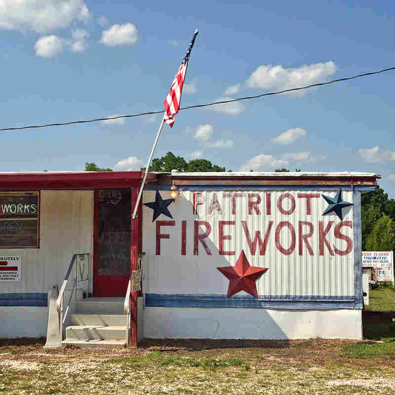 Patriot Fireworks. Chesnee, S.C. This trailer store is located just a few miles from the North Carolina border where fireworks sales are illegal. The owner told me that it has been a family business for nearly three decades.