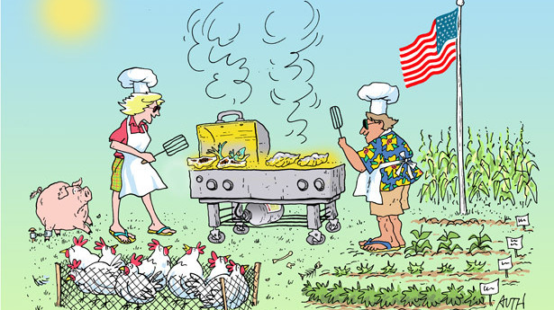 America S Test Kitchen Gas Grilled Hamburgers