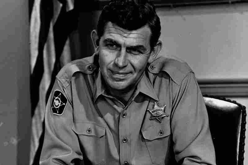 Actor Andy Griffith was best known for his role as the gentle, small-town sheriff of Mayberry on the 1960s sitcom The Andy Griffith Show. He died Tuesday at 86.