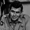 Actor Andy Griffith died Tuesday at 86. He sits in uniform, as Sheriff Andy Taylor, on the set of his television series The Andy Griffith Show in 1967.