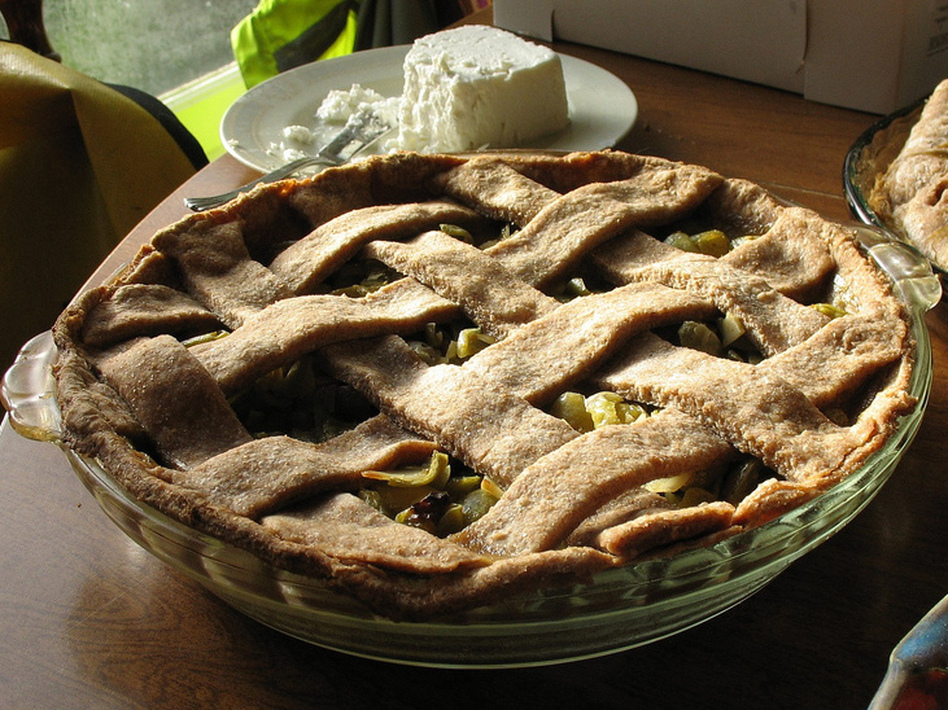 Some desperation pies, like green tomato pie, still enjoy niche popularity today.