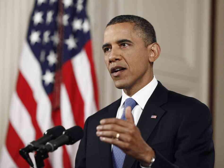 President Barack Obama speaks at the White House following the Supreme Court's decision on the Affordable Care Act June 28. The court ruled the individual mandate that citizens buy health insurance or face a fine is constitutional under the federal government's power to tax.